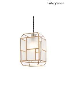 Gallery Direct Brass Chadslow Pendant Light