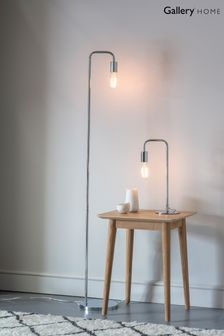 Gallery Direct Ruby Chrome Floor Lamp