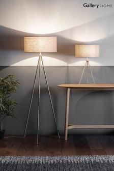 Gallery Direct Som Chrome Floor Lamp