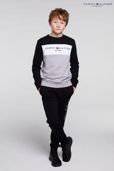 Tommy Hilfiger Essential Colourblock Sweatshirt And Joggers Set