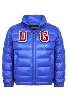 Dolce & Gabbana Kids Boys Down Padded Jacket