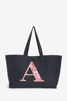 Initial Beach Bag