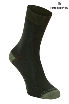 Craghoppers Green Nlife Socks Twin Pack