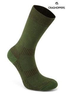 Craghoppers Green Heat Regulate Travel Socks
