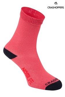 Craghoppers Pink Nlife Kids Travel Socks