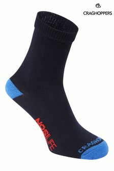 Craghoppers Blue Nlife Kids Travel Socks