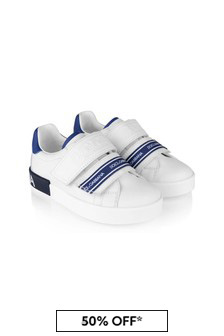 Dolce & Gabbana Kids Boys Leather Trainers