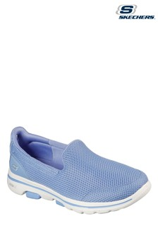 Skechers Blue Gowalk 5 Slip-On Sports Trainers