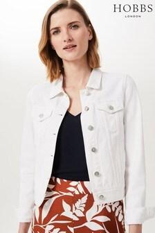 Hobbs White Mariam Jacket