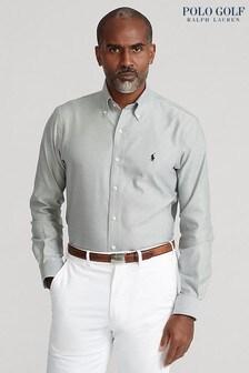 Polo Golf by Ralph Lauren Khaki Oxford Shirt