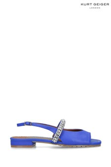 Kurt Geiger London Blue Princely Sandal Shoes