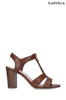 Carvela Natural Strat Sandals