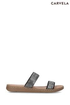 Carvela Comfort Grey Shake Sandals