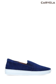 Carvela Comfort Blue Connected Trainers