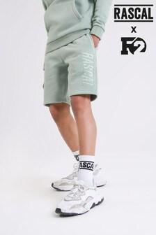 Rascal Boys Green Gamma Shorts