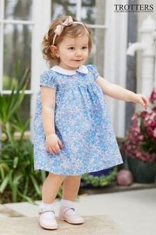 Trotters London Blue Betsy Dress