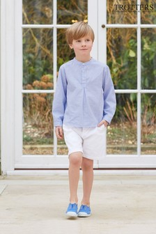 Trotters London White Charlie Chino Shorts