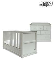 Mamas & Papas Oxford 2 Piece Cot Bed Set with Dresser