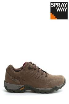 Sprayway Brown Girona Low Womens HydroDRY Shoes