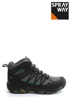 Sprayway Black Fara Mid Womens HydroDRY Boots