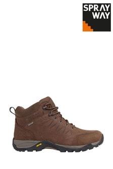 Sprayway Brown Girona Mid HydroDRY Boots