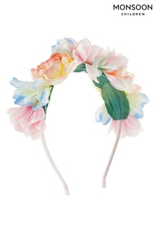 Monsoon Pink Secret Garden 3D Flower Headband