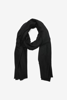 Plain Midweight Scarf