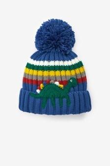 Crochet Pom Pom Beanie (3mths-10yrs)