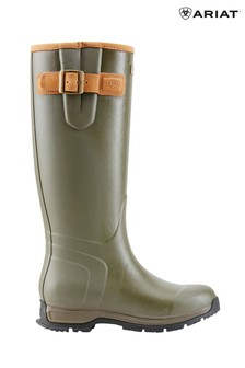 Ariat Green Burford Insulated Wellies