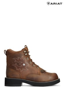 Ariat Brown Probaby Lacer Boots