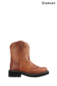 Ariat Brown Fatbaby Saddle Western Boots