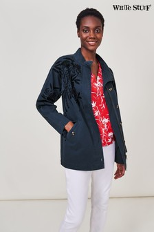 White Stuff Denim Harey Embroidered Jacket