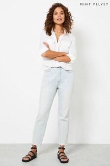 Mint Velvet Blue Meribel Light Indigo Jeans