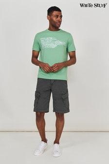 White Stuff Grey Harbour Organic Cargo Shorts