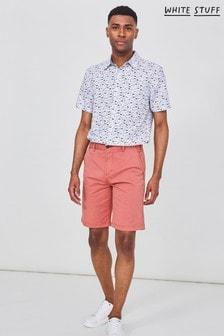 White Stuff Coral Portland Organic Chino Shorts