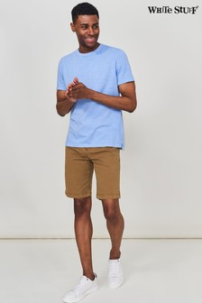 White Stuff Brown Portland Organic Chino Shorts