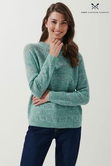 Crew Clothing Company Pointelle Jumper