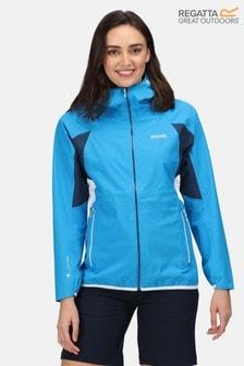 Regatta Blue Womens Imber IV Waterproof Jacket