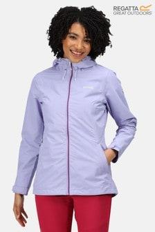 Regatta Purple Hamara III Waterproof Jacket