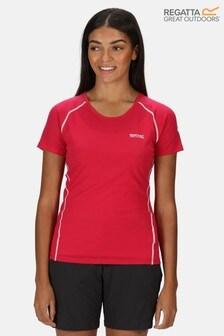 Regatta Pink Womens Tornell II Active T-Shirt