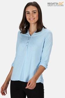 Regatta Blue Fflur Long Sleeve T-Shirt
