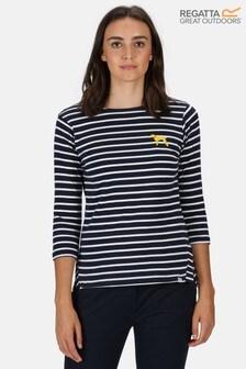 Regatta Blue Polina Long Sleeve T-Shirt