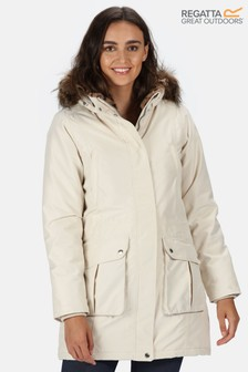Regatta Cream Sefarina Waterproof Jacket