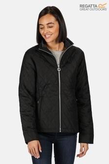 Regatta Black Charna Quilted Jacket