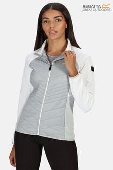 Regatta Grey Womens Clumber Hybrid Baffle Jacket
