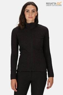 Regatta Black Kelford Full Zip Softshell Fleece