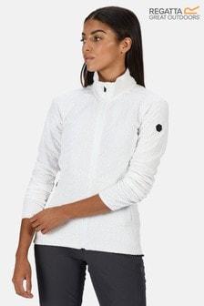 Regatta White Kelford Full Zip Softshell Fleece