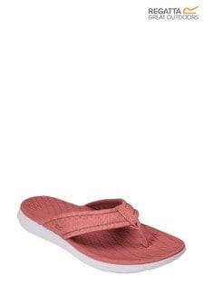 Regatta Pink Lady Belle Lightweight Flip Flops