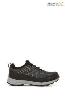 Regatta Black Samaris Lite Waterproof Walking Shoes