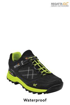 Regatta Black Samaris Pro Waterproof Walking Shoes